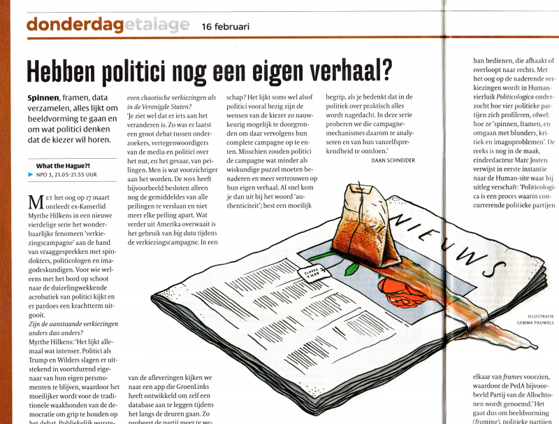 politiek websites of blog